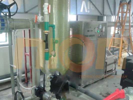 Lắp đặt máy ozone xử lý nguồn nước tại Vinpearl Phú Quốc