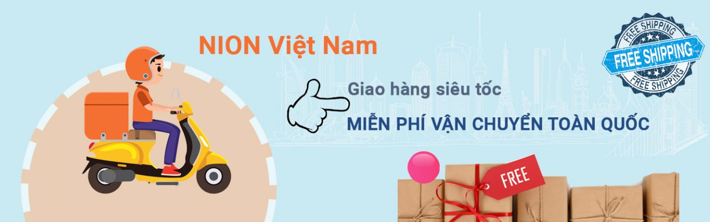 Nion Việt Nam miễn phí vận chuyển toàn quốc
