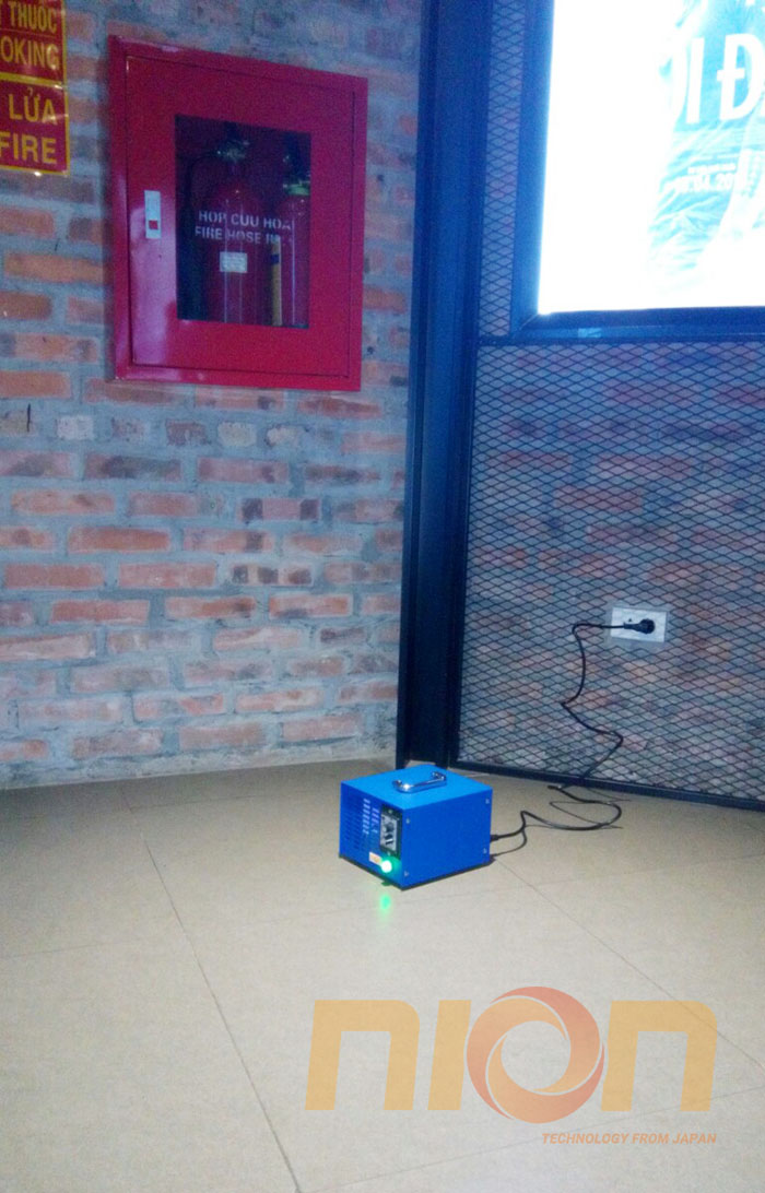Máy khử mùi ozone Nion NK8 được sử dụng tại rạp BHD