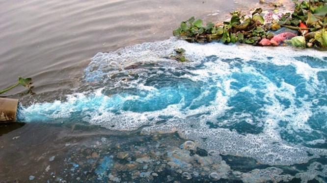 Ứng dụng ozone trong loại bỏ màu nước thải ngành dệt may